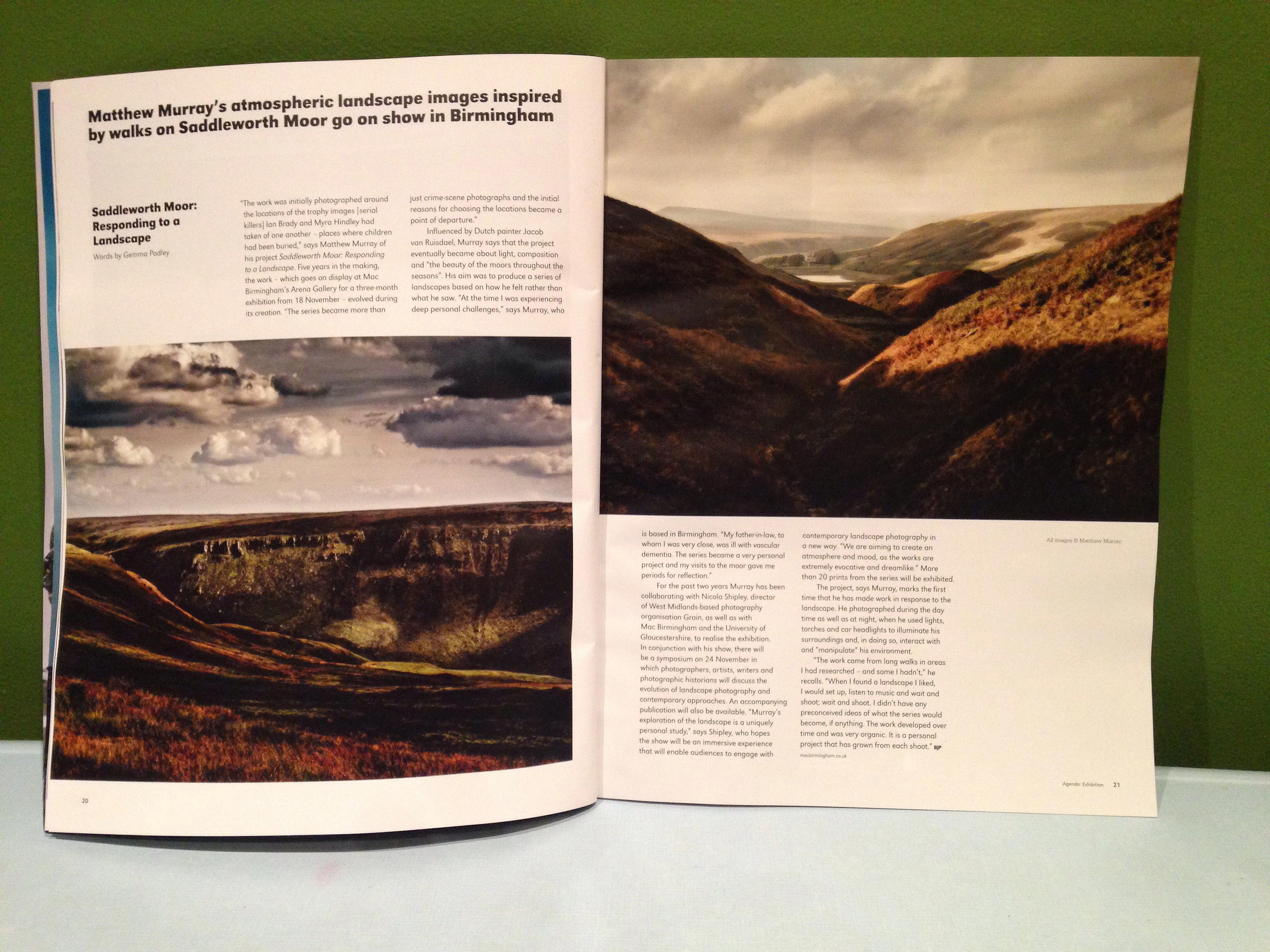 Matthew murrays atmospheric landscape images inspired by walks on saddleworth moor